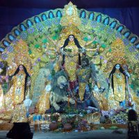 Durga Puja the famous festival of Hindus
