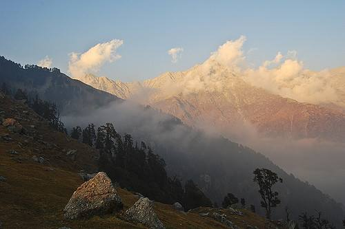 Hanumaan Ka Tibba is the highest peak of Dhauladhar