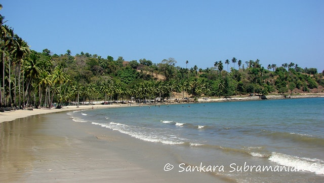 Places to visit in Port Blair Corbyn's Cove Beach