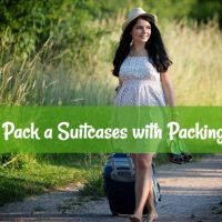 How to Pack a Suitcases with Packing Cubes
